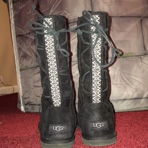 Black Uggs size 9